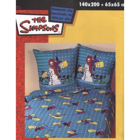 housse de couette les simpsons snow. Black Bedroom Furniture Sets. Home Design Ideas