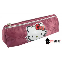 fourre tout hello kitty couture triangle arrondi rose