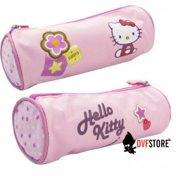 fourre tout hello kitty cookie rond rose