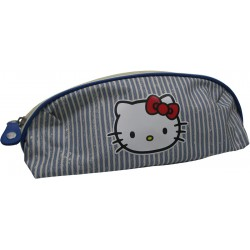 fourre tout hello kitty marin triangle bleu