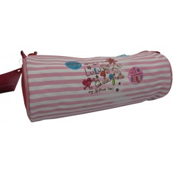fourre tout lulu castagnette shopping rose