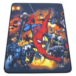 tapis marvel superheroes - déscente de lit 75 x 100 cm