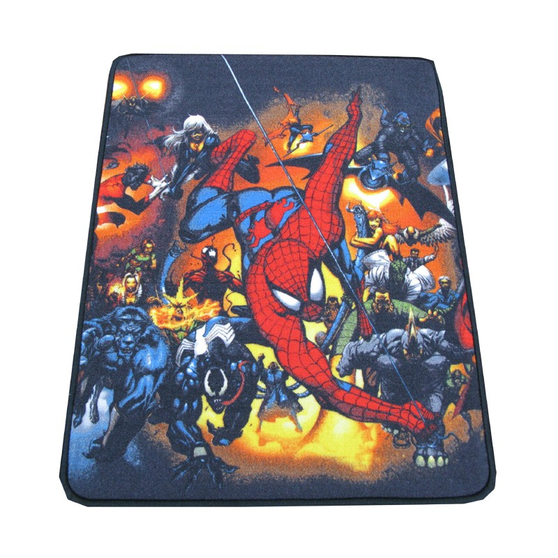 tapis marvel superheroes d scente de lit 75 x 100 cm. Black Bedroom Furniture Sets. Home Design Ideas