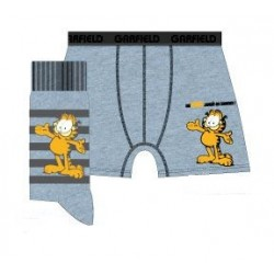 ensemble shorty et chaussettes garfield