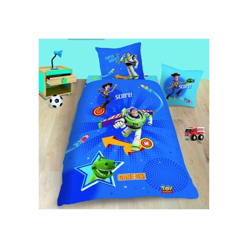 housse de couette toy story flipper 140 x 200 cm avec taie la boutique des. Black Bedroom Furniture Sets. Home Design Ideas