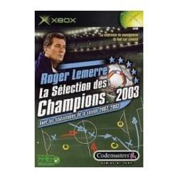 roger lemerre : la sélection des champions 2003 [xbox]