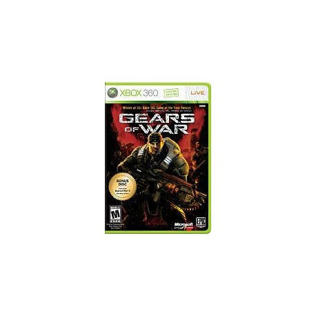 jeux xbox 360 : gears of war