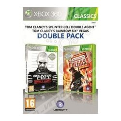 double pack - tom clancy's splinter cell double agent + rainbow