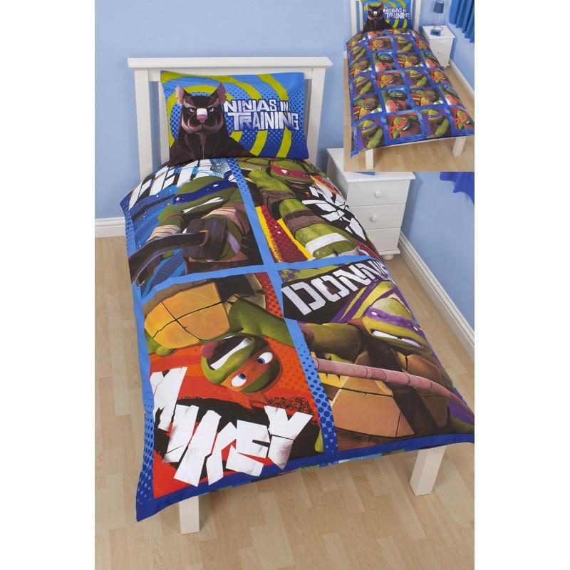 parure de lit les tortues ninja dudes. Black Bedroom Furniture Sets. Home Design Ideas