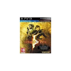 resident evil 5 gold : move edition [ps3]