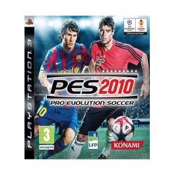 jeux ps3 pes 2010 pro evolution soccer