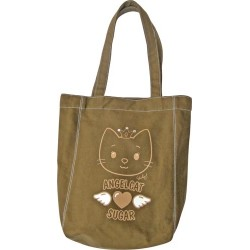 sac cabas marron angel cat sugar