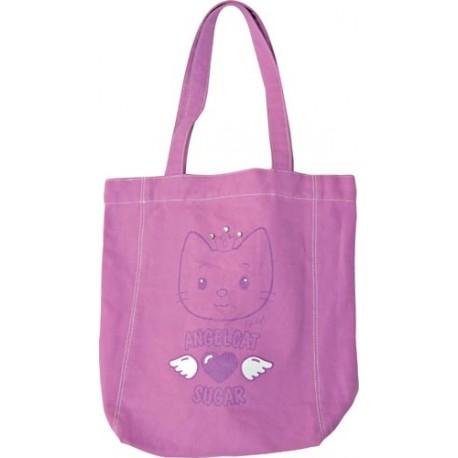 sac cabas violet cat sugar