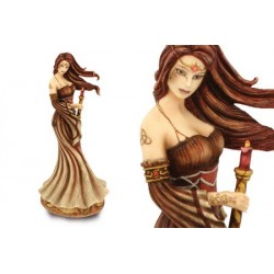 figurine féerique : celtic witch