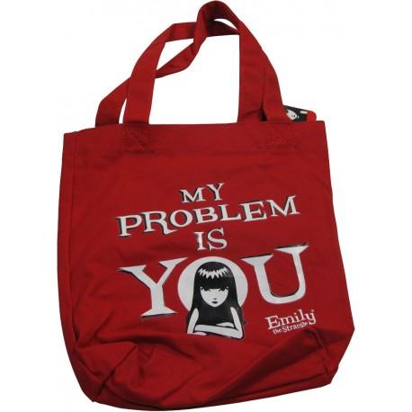sac shopping emily the strange rouge