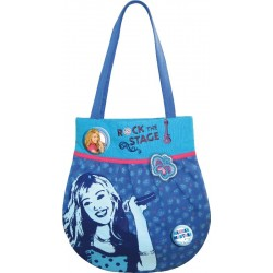 sac shopping hannah montana bleu
