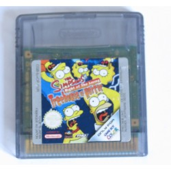 the simpsons: night of the living treehouse of horror [gbc]