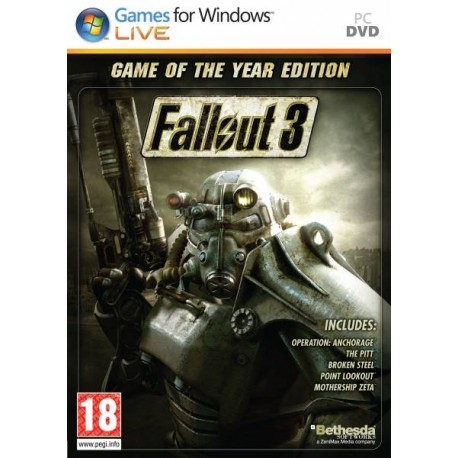 fallout 3: game of the year edition [pc]