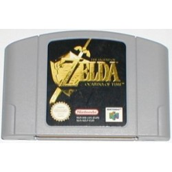 "the legend of zelda ""ocarina of time"" [nintendo 64]"