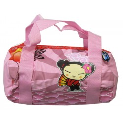 sac à main rond pucca daydream rose