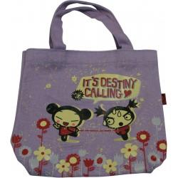 sac shopping pucca rétro , le destin (violet)