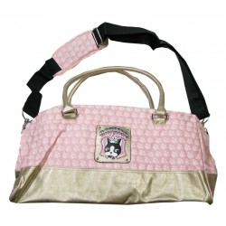 sac rebecca bonbon crown trapèze rose