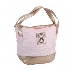 sac shopping rebecca bonbon crown rose