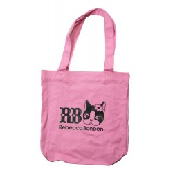 sac shopping rebbeca bonbon rose