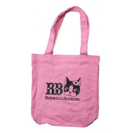 sac shopping rebbeca bonbon rose