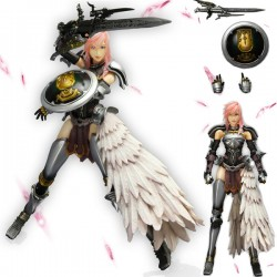 final fantasy xiii-2 play arts kai lightning