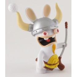 lapins crétins retour vers le passé : viking jouant au golf
