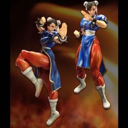 figurine street fighter iv - play arts kai chun-li