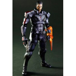 figurine play arts kai mass effect 3 commander shepard 22 cm