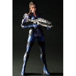 figurine play arts kai mass effect 3 ashley williams 22 cm