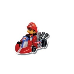 gashapons mario kart wiipull back racers : baby mario