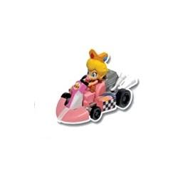 gashapons mario kart wiipull back racers : baby peach