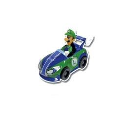 gashapons mario kart wiipull back racers : luigi