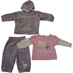 jogging winnie l'ourson violet (3 à 23 mois)