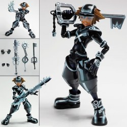 kingdom hearts 3d - play arts [kai] sora tron:legacy ver