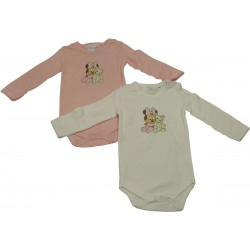 lot 2 body fantaisie minnie et doudou rose (de 6 à 23 mois)