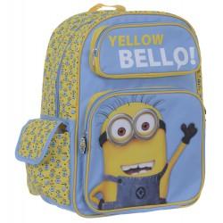 Moi, moche et méchant 2 sac à dos avec poches Yellow Bello