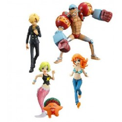 figurines one piece half age characters figure vol. 3