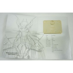 saint seiya - myth cloth plaque collector v2 virgo shaka