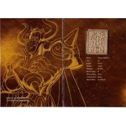 saint seiya - myth cloth plaque collector taureau aldebaran