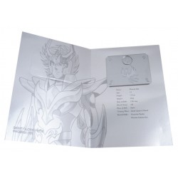 saint seiya - myth cloth plaque collector v2 ikki phoenix v3