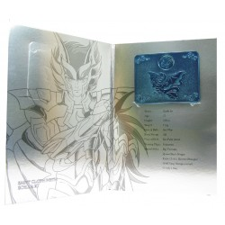 saint seiya - myth cloth plaque collector v2 io scylla