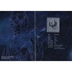 saint seiya - myth cloth plaque collector ikki phoenix v3