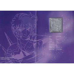 saint seiya - myth cloth plaque collector unicorn jabu