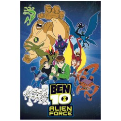 ben 10 alien force couverture polaire characters