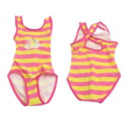 maillot de bain disney princess rayé (2 à 7 ans)